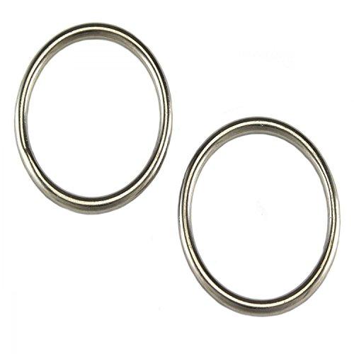 10 Stück Rundringe 4,0 x 40mm Edelstahl Niro VA Rundring O Ring Ringe