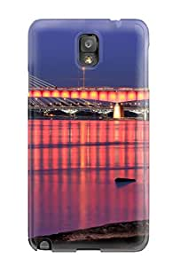 Muriel Alaa Malaih's Shop New Style Galaxy Note 3 Case Cover - Slim Fit Tpu Protector Shock Absorbent Case (bridge) 6193352K29078383