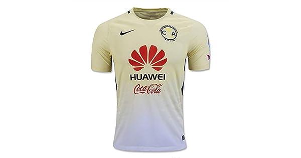 5effda1e4a 2016-2017 Club America Home Nike Football Shirt  Amazon.com.mx  Ropa ...