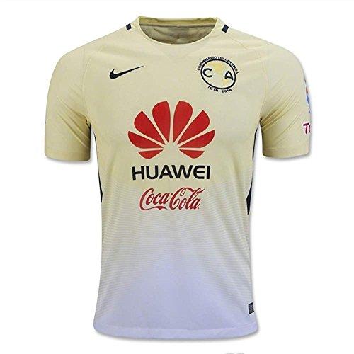 Nike Mens Club America Stadium Jersey-LEMON CHIFFON (S)