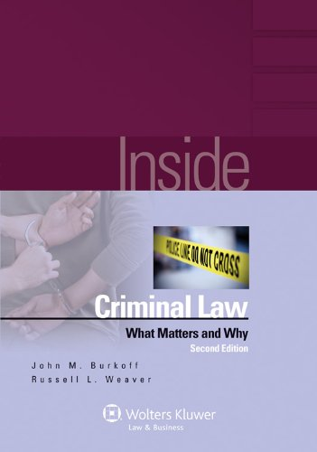 Inside Criminal Law: What Matters & Why 2e