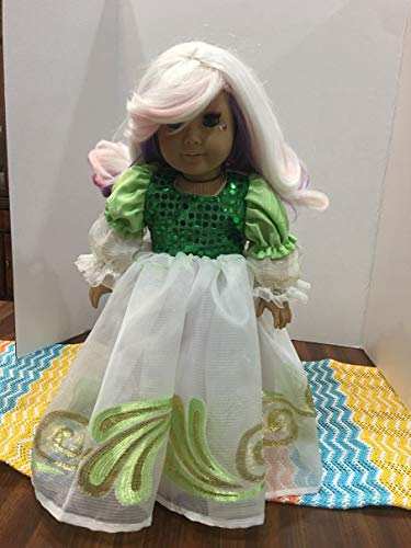 Party Dress Nature Inspired Fairy or Princess Dress Fits 18
