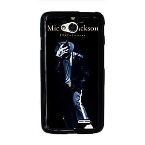 Michael Jackson Phone Case Michael Jackson LG L70 Case Cover Fashionable Black Phone Case MJ LG L70 Phone Case Skin 088