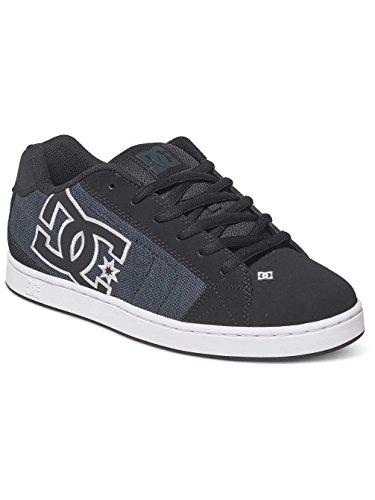 DC Net Se, Zapatillas para Hombre Negro (Black Dark Used)