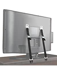 Safety Baby Metal Furniture / TV Straps - Earthquake Proof - Bolts & Hardware Included (2 Pack) BOBEBE Online Baby Store From New York to Miami and Los Angeles