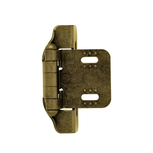 Liberty H01911C-AE-O Overlay Hinge, Antique English ()