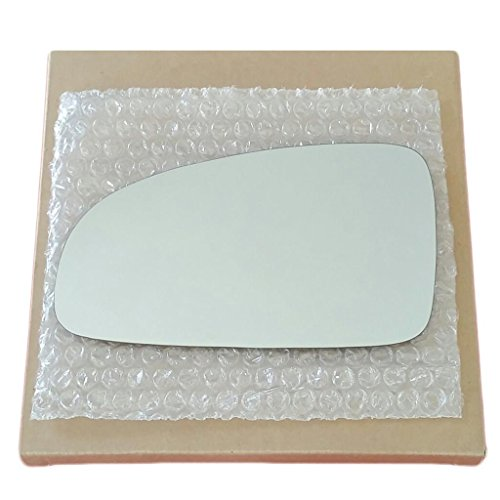 Mirror Glass and Adhesive 2004 - 2006 Chevy Aveo Sedan or 2004 - 2008 Aveo Hatchback Driver Left Side Replacement Glass