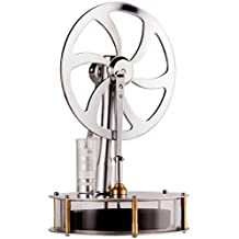Sunnytech Low Temperature Stirling Engine Motor Steam Heat Education Model Physics Toy (Z1)