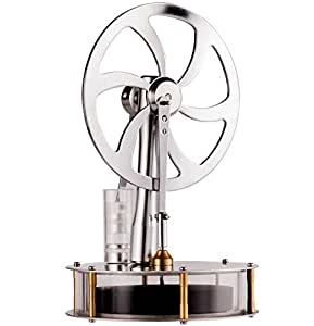 Sunnytech Low Temperature Stirling Engine Motor Steam Heat Education Model Toy Great Gift Boyfriend Girlfriend, Parents, Kids (Z1)
