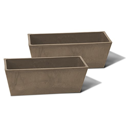 Algreen Valencia Windowsill Planter Taupe