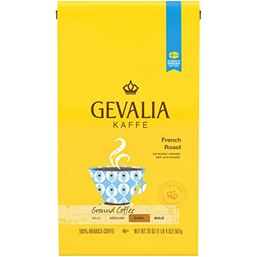 (Gevalia French Roast Dark Ground Coffee, 20 oz Bag)