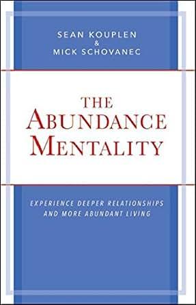 Abundance mentality in dating