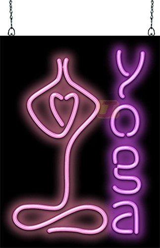 - Jantec Sign Group Yoga Neon Sign