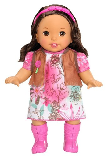 (Little Mommy Sweet As Me Boho Hispanic Doll)