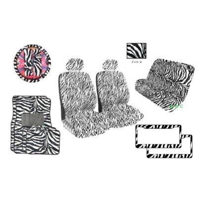 zebra print bucket seat covers - 9