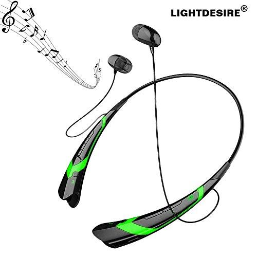 Bluetooth Headphones LIGHTDESIRE Sweatproof Earphones