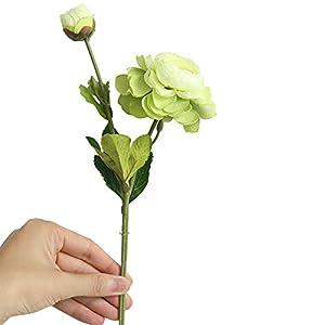 Artificial Flower,Fake Western Rose Silk Flower Blossom Bridal Bouquet for Home Wedding Wedding Party Decor Yamally 40