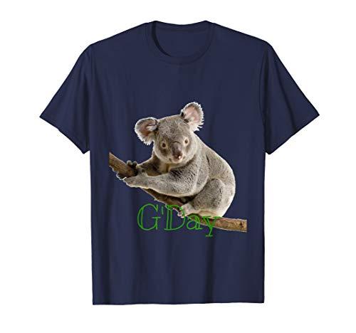 (G'Day Koala Bear T Shirt)