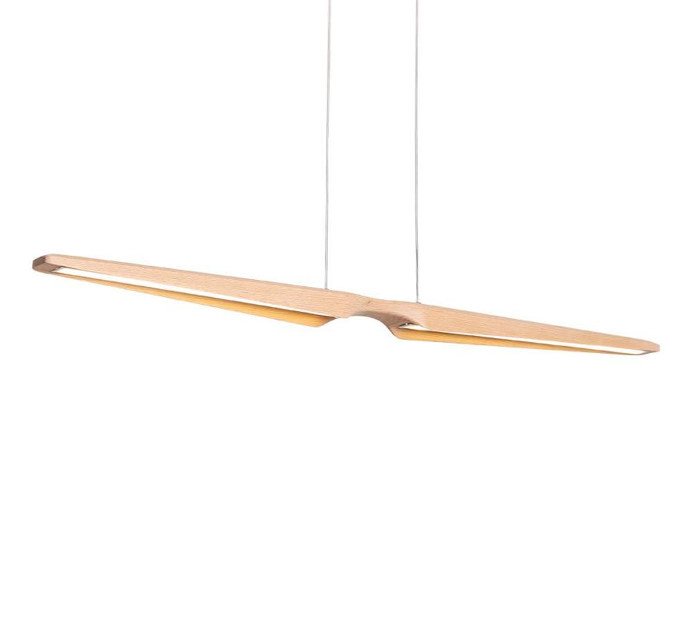 MyLjp LED Hängelampe Pendelleuchte aus Holz HausLeuchten LED Kronleuchter esstisch Pendellampe Moderne Kreativität für Wohnzimmer/Büro/Küche/Cafe/Arbeitszimmer Leuchte(Dimmbar - Keine Fernbedienung)