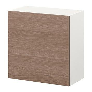 IKEA KNOXHULT Wandschrank mit Tür; Holzeffekt; (60x60cm): Amazon.de ...