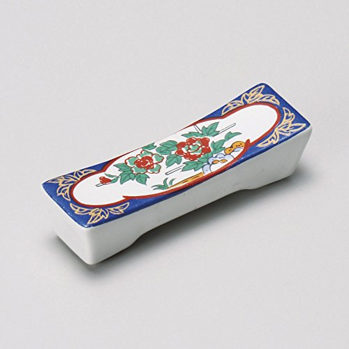 Chopstick stand Jinshi square shape size [ 6.5 x 2cm ] 30g Japanese dish plates traditional oriental ()