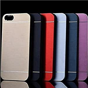 JOE Metal Finish Hard Cover Case for iPhone 4/4S (Assorted Colors) , Pink