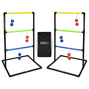 Rubber Bolos, Carrying Case and Score Trackers : Sports & Outdoors