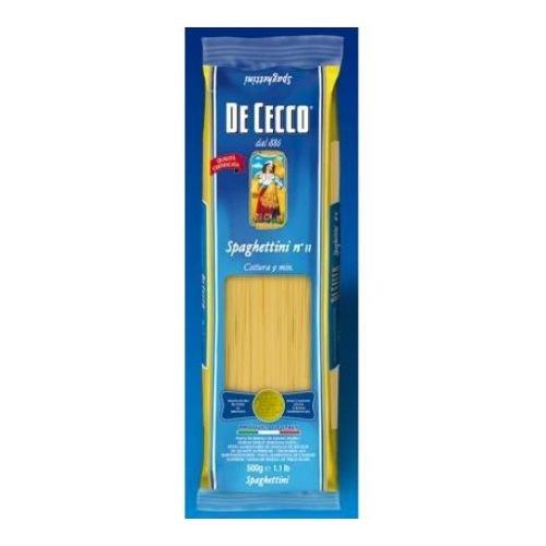 De Cecco Spaghettini Pasta, 16 Ounce -- 20 per case. by De Cecco