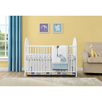 Top Selling Most Popular Cheap White Contemporary Metal Baby Infant  Adjustable Crib Sleeper Bed  Three