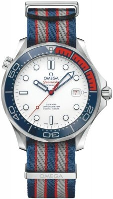 Omega James Bond 007 212.32.41.20.04.001 Commanders Automatic Men's Watch