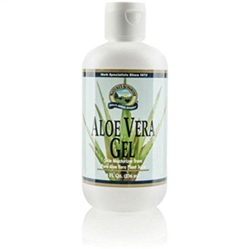 Naturessunshine Aloe Vera Gel Skin Moisturiser from Pure Aloe Vera Plant Juice 8 fl. oz (Pack of 2)