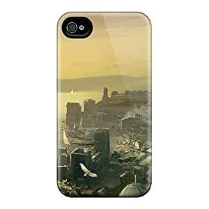 Tpu Case For iphone 5c With Assassins Creed Revelations Constantinople Concept Art