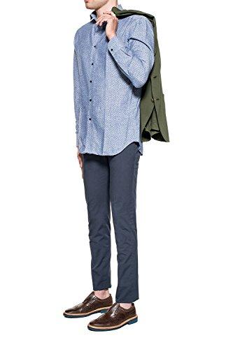 Incotex Homme 1AGW1590098822 Bleu Coton Pantalon