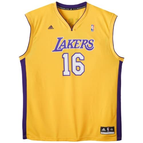 3cea705be coupon code for high quality nba los angeles lakers pau gasol gold replica  jersey 6155a ead55