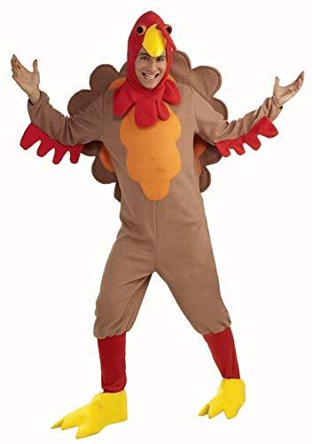 Forum Novelties Adult Fleece Turkey Costume ,X- Large