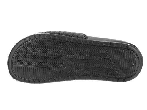 Nike Wmns Benassi Jdi, Chanclas para Mujer Blanco (Black / White)