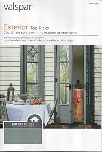 Valspar Paint Catalog Exterior Top Picks Color Coordinated