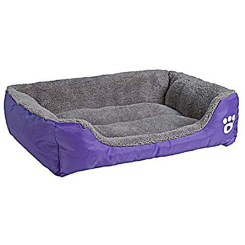 Auboa cat Dog Bed-Washable pet Kennel House Plush Pillow Sofa Coach -