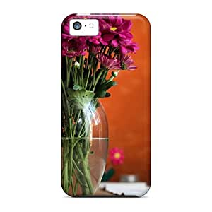 For Iphone 5c Tpu Phone Case Cover(dream Spring 2012 Pretty Flowers 03)