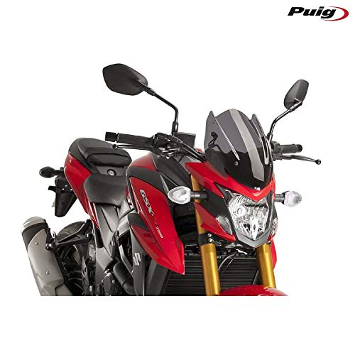 18 SUZUKI GSX-S750: Puig Naked Generation Sport Windscreen (Dark Smoke)