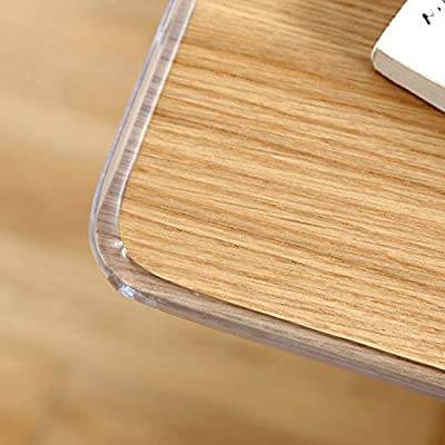 Transparent Corner Guards, 20 Feet Furniture Table Edge Protectors Soft Silicone Bumper Strip with Double-Sided Tape for Furniture Edge & Sharp Corners Baby Proofing
