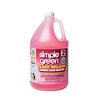simple green Clean Building Bathroom Cleaner Concentrate, Unscented, 1 gal. Bottle - two bottles of cleaner.