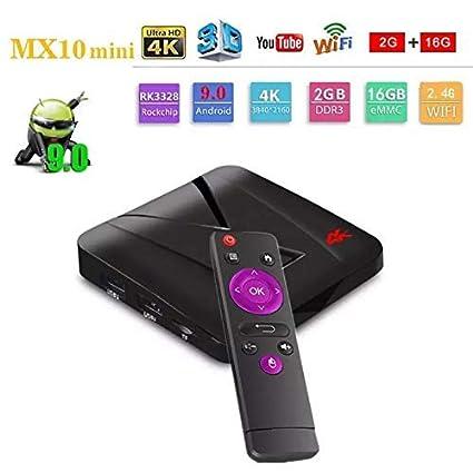 RKTech MX10 Mini Android 9 0 2GB RAM 16GB ROM Network