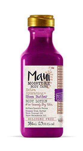 - Maui Moisture Body Care Extra Hydrating Shea Butter Body Lotion, 13 Ounce Bottle