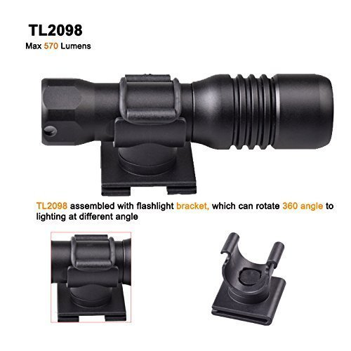 Black liaoshan-150M Mini Diving Mask Light Scuba Back-up Torch Attach On Mask Use Aa or 14650 Battery 570lumens Adjustable 360 Angle Holder Torch+bracket