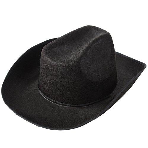 Black Cowgirl Hat - US Toy Cowboy Hat,