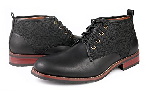 Shoes up Black Mens Modern Boots Aldo Ferro Lace Ankle Dress Chukka Black Pzf0cqxw