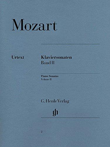 Klaviersonaten Band 2 (Englisch) Taschenbuch – 3. Juli 2006 Wolfgang Amadeus Mozart Hrsg.: Ernst Herttrich G. Henle Verlag B00018ARWW