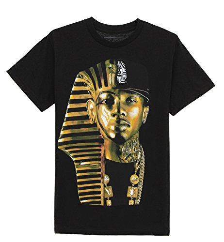 Last Kings Men's King Me Short Sleeve T Shirt-Black-S