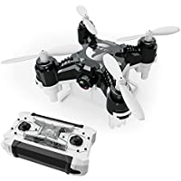 MKLOT FQ777-124C Pocket Drone Mini RC Quadcopter FPV 2.0MP 720P HD Camera 4CH 6-Axis Gyro w/ Switchable Controller RTF One Key Return Helicopter Best Gift for Boys Kids Children